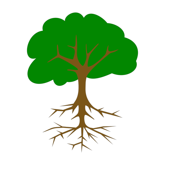 Blue Tree Logo PNG Clip art