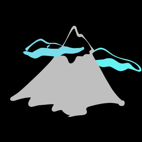 Mountain Peak Logo PNG Clip art