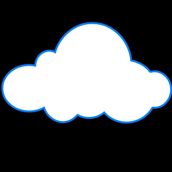 Cloud Light Blue PNG Clip art