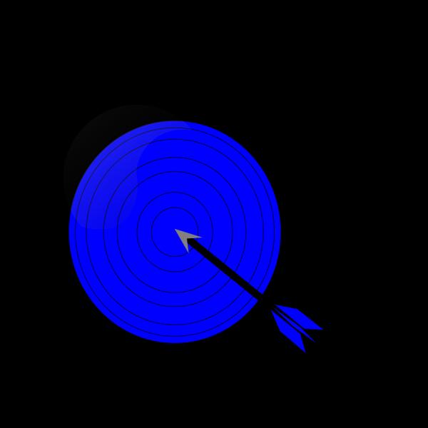 Blue Target PNG images