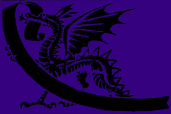 Blue Dragon PNG Clip art