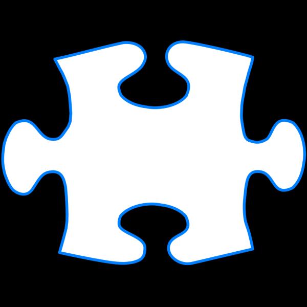 Jigsaw Piece Blue PNG Clip art