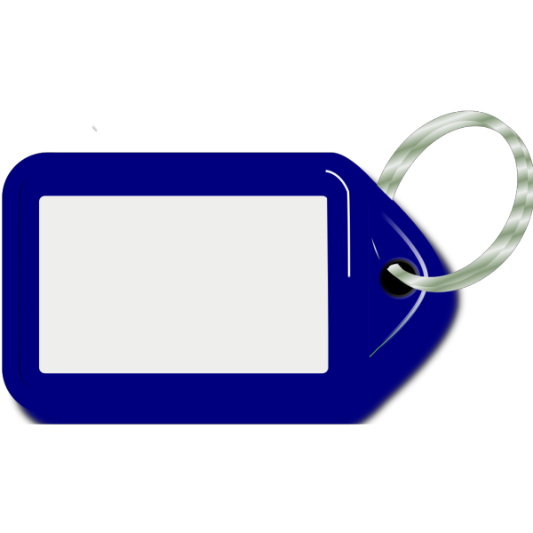 Blue Key Ring PNG Clip art