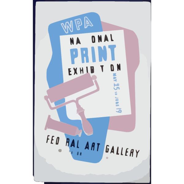 Wpa National Print Exhibition, Federal Art Gallery PNG images