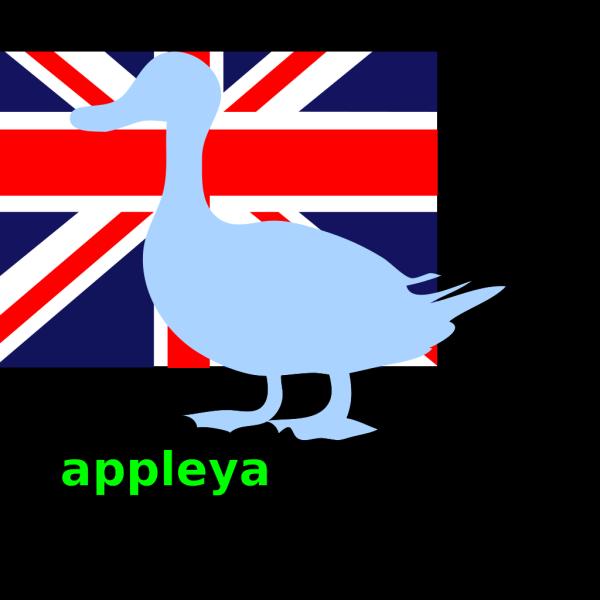 Appleyard Design Blue 2 PNG Clip art