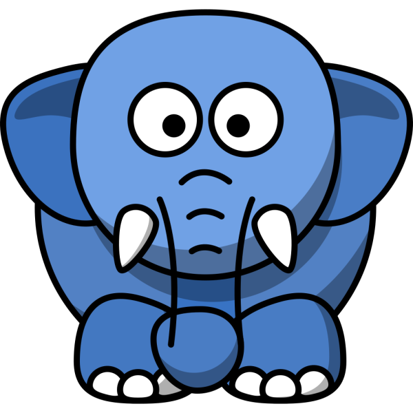 Bb Elephant PNG Clip art