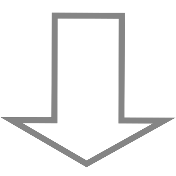 Wide Down Arrow PNG Clip art