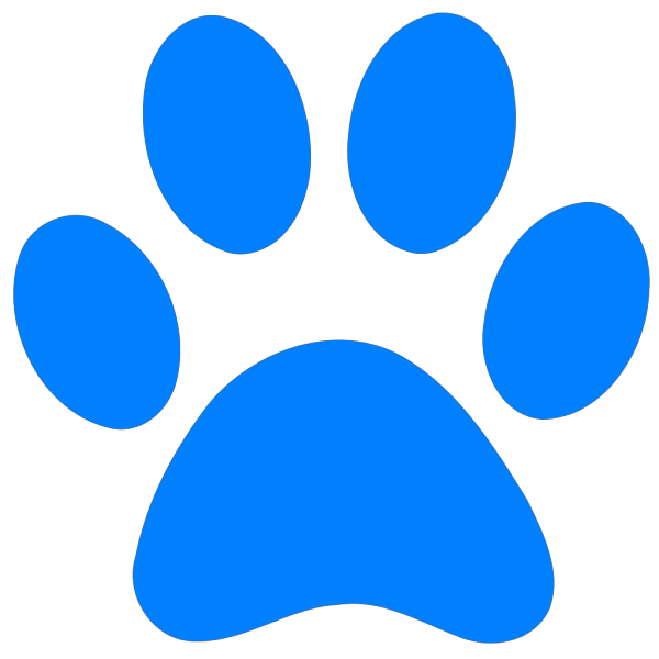 Blues Clues Paw PNG clipart