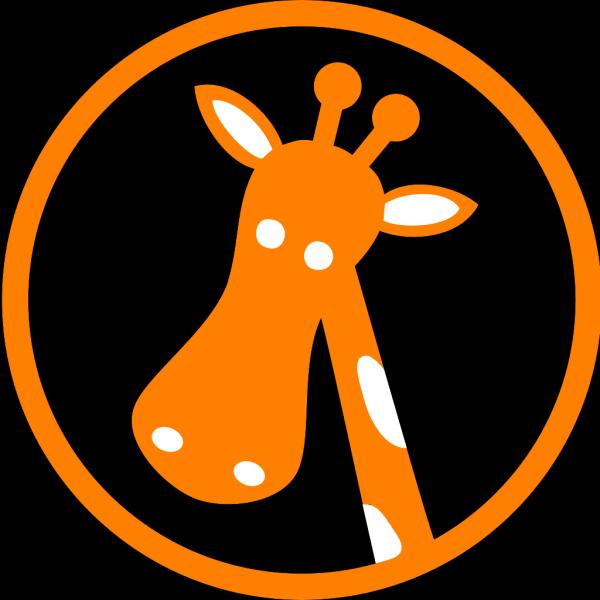 Polka Dot Giraffe PNG Clip art