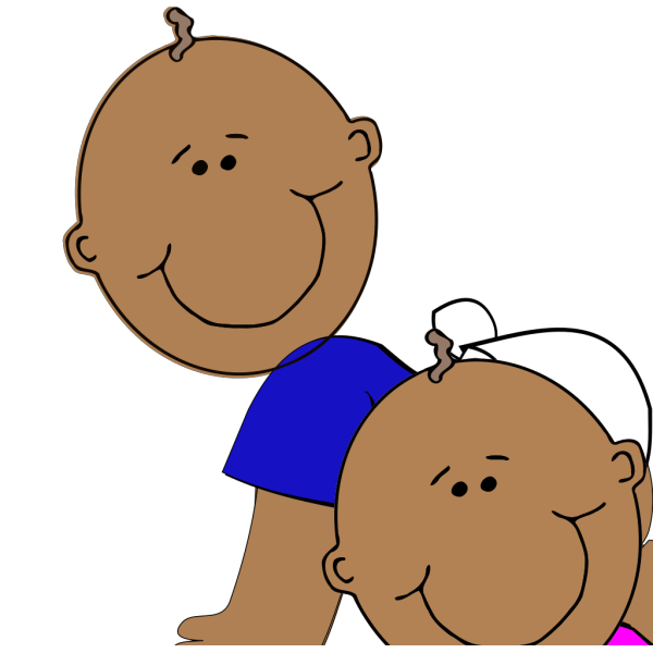 African-american Twins PNG Clip art