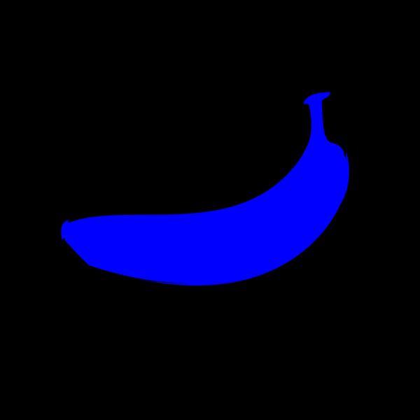 Blue Banana PNG Clip art