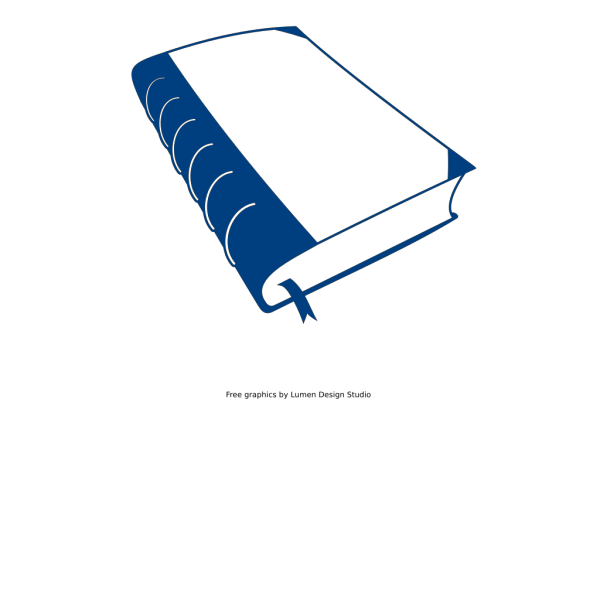 Old Blue Book PNG Clip art