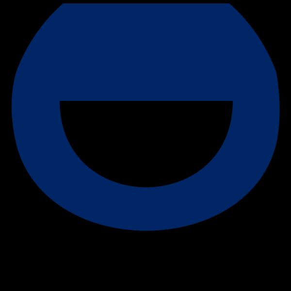 Line Diveder In Ucd Blue PNG Clip art