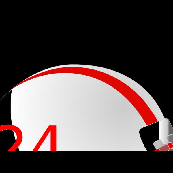 Blue Football Helmet PNG Clip art