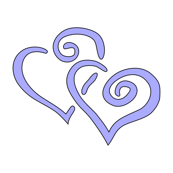 Interwined Heart PNG Clip art