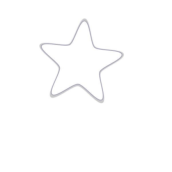 Starfish Print PNG Clip art