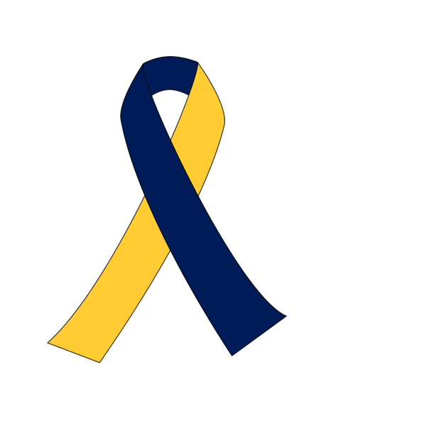 Maize And Blue Ribbon PNG Clip art