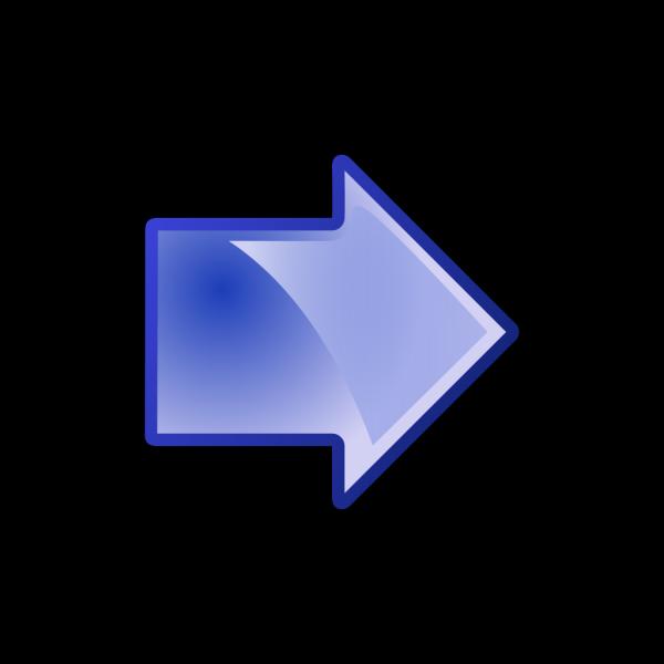 Arrow Blue Right PNG Clip art