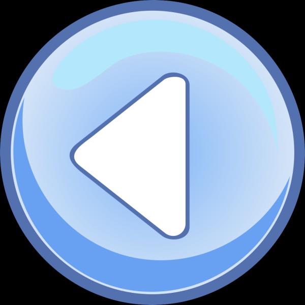 Left Blue Arrow PNG Clip art
