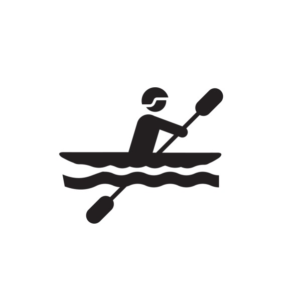 Canoeist PNG images