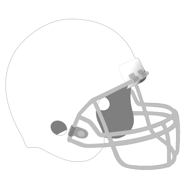 Football Helmet-star On It PNG Clip art