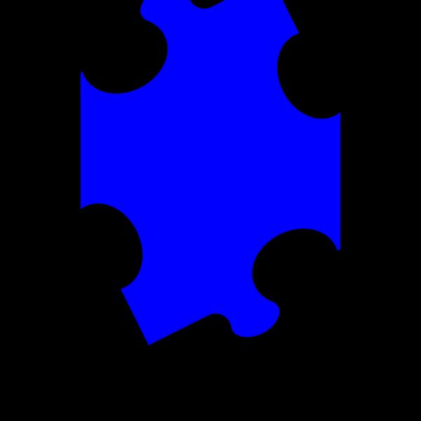 Blue Puzzle PNG Clip art