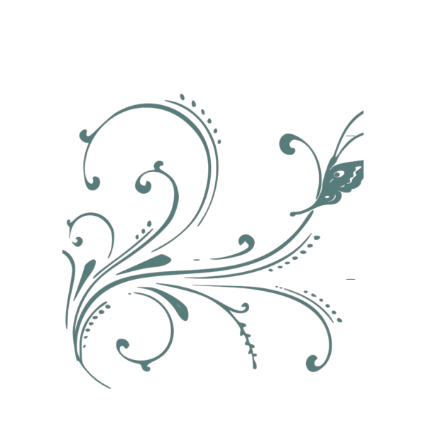 Transparent Blue Scroll PNG images