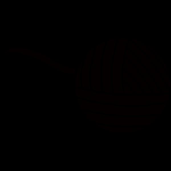 Yarn Ball Blue PNG Clip art