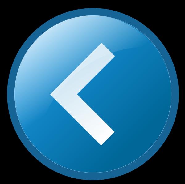 Empty Blue Button PNG clipart