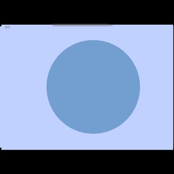 Blue Exit Button 3 PNG Clip art