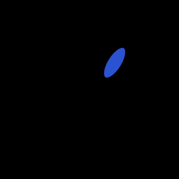 Blue Soccer Man PNG Clip art