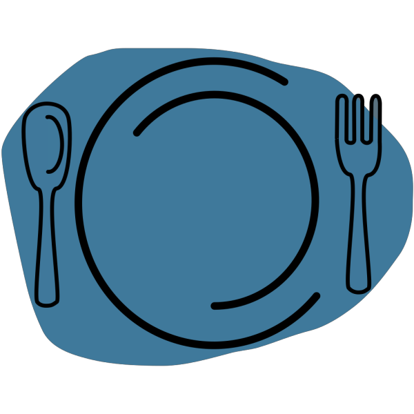 Blue Plate PNG icons