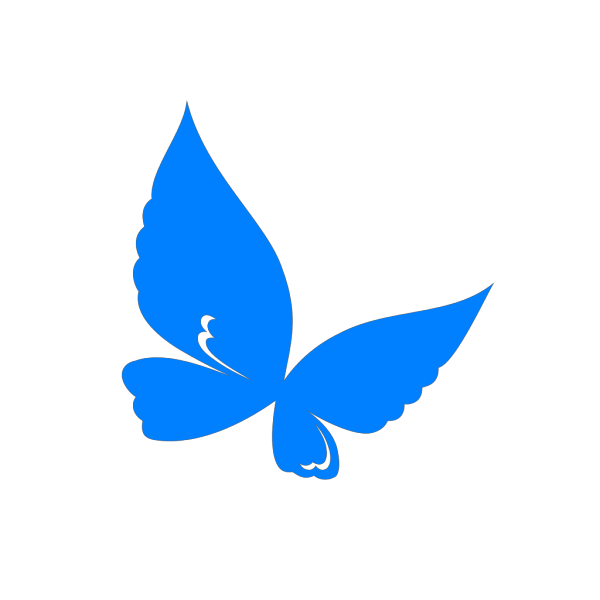 Blue.butterfly PNG Clip art