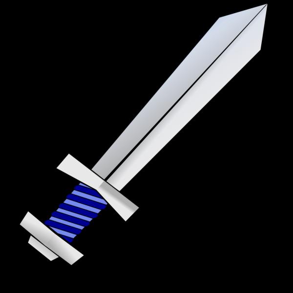Blue Sword PNG Clip art