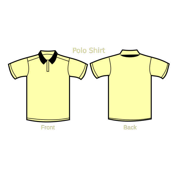 T Shirt Template PNG Clip art