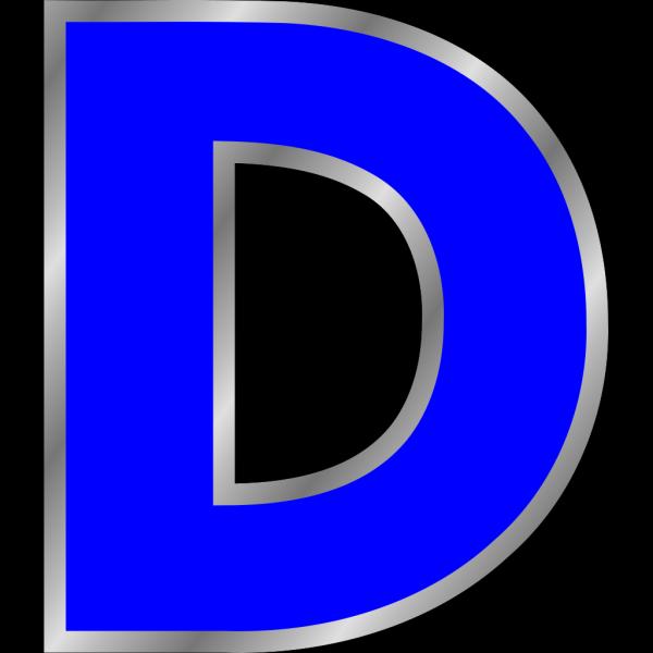 Letter D PNG Clip art