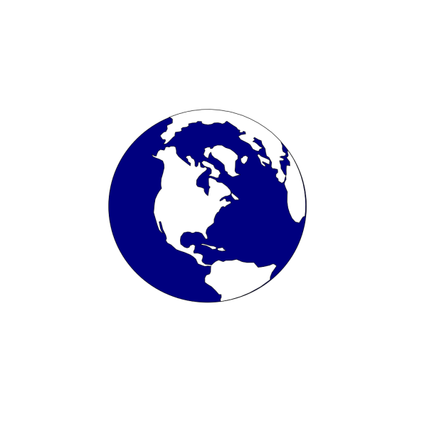 Blue And White Earth PNG Clip art