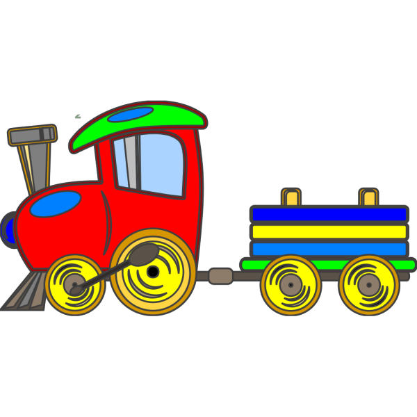 Loco Train PNG Clip art