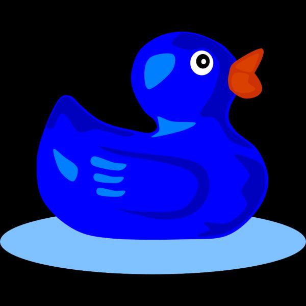 Blue Duck PNG Clip art