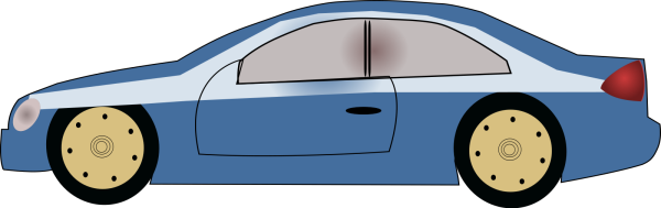 Blue Car PNG icon