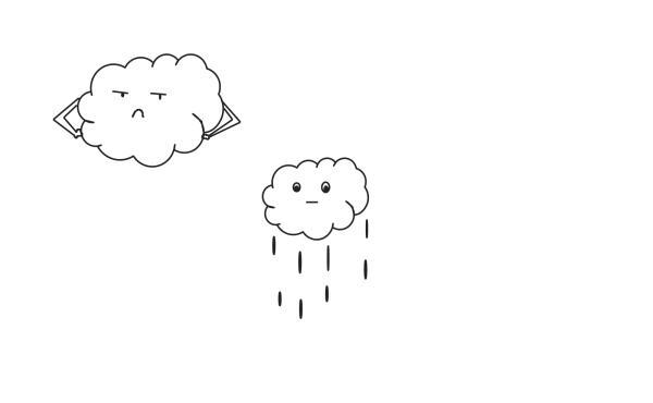 Thunder Cloud PNG Clip art