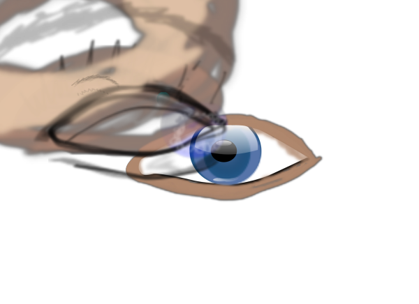 Real Blue Eye PNG Clip art
