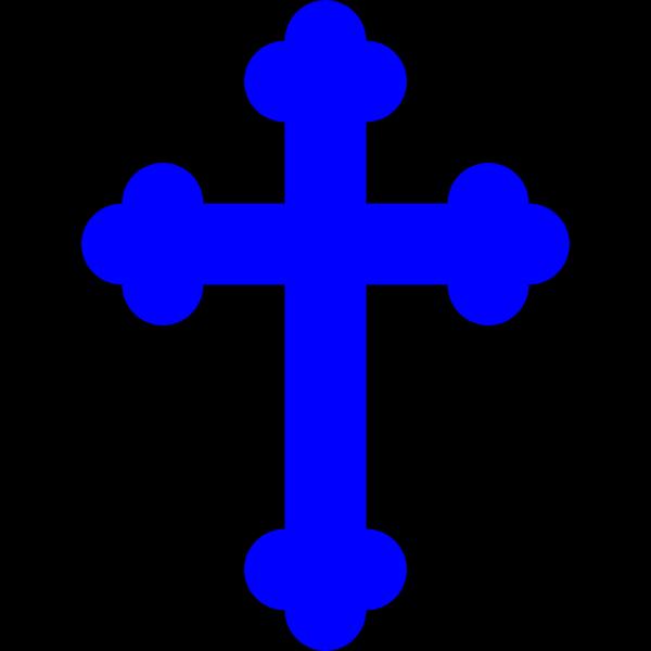 Royal Blue Cross PNG Clip art