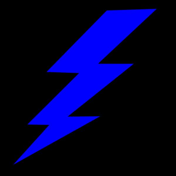 Blue Bolt PNG Clip art