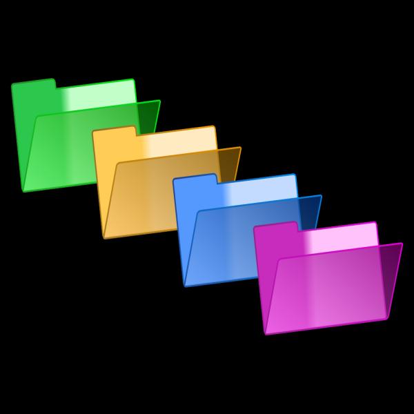Green Yellow Blue Pink PNG Clip art