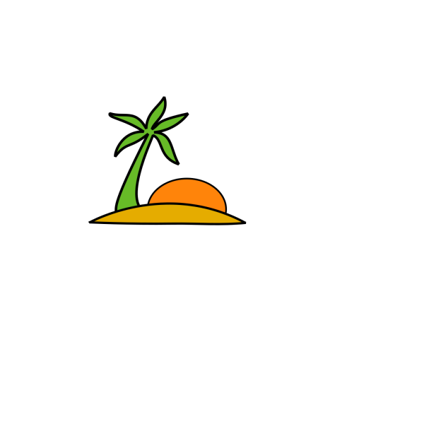 Island In The Ocean PNG images