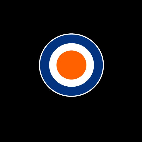 Black Center Bullseye PNG Clip art