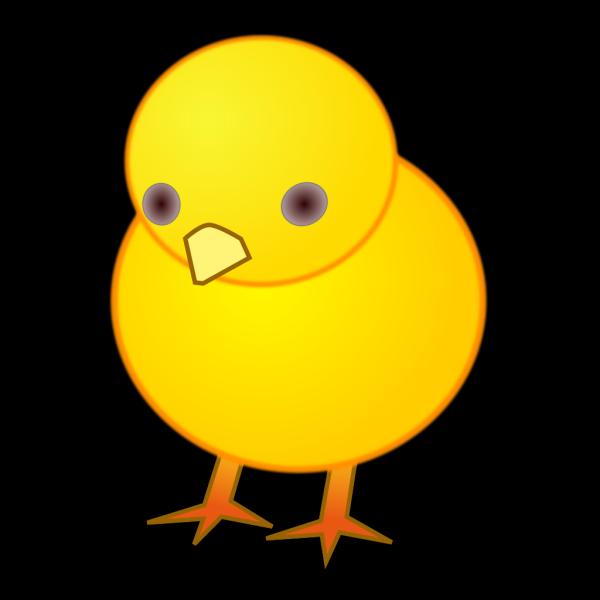 Blue Chick PNG Clip art