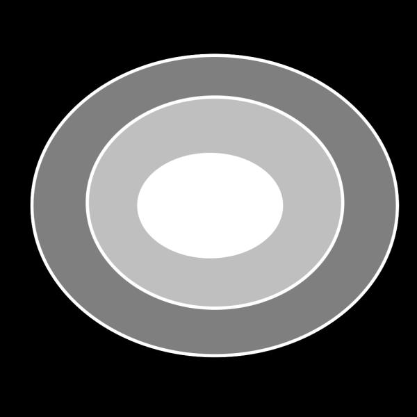 3 Ring Bulls Eye PNG Clip art