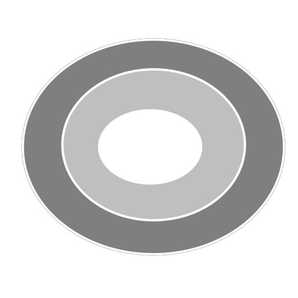 3 Ring Bulls Eye Larger PNG Clip art